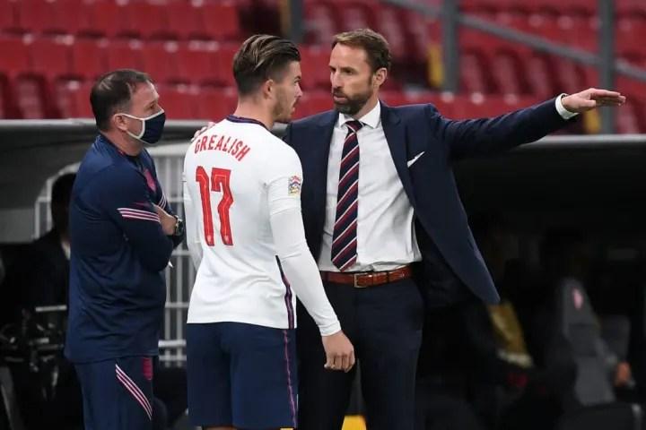 Jack Grealish praised England boss Gareth Southgate