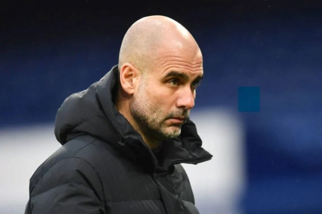 Pep Guardiola remained coy when asked about Erling Haaland links