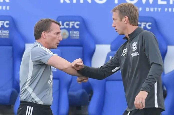Graham Potter dhe Brendan Rodgers