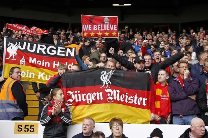 I tifosi del Liverpool erano entusiasti della nomina del tedesco