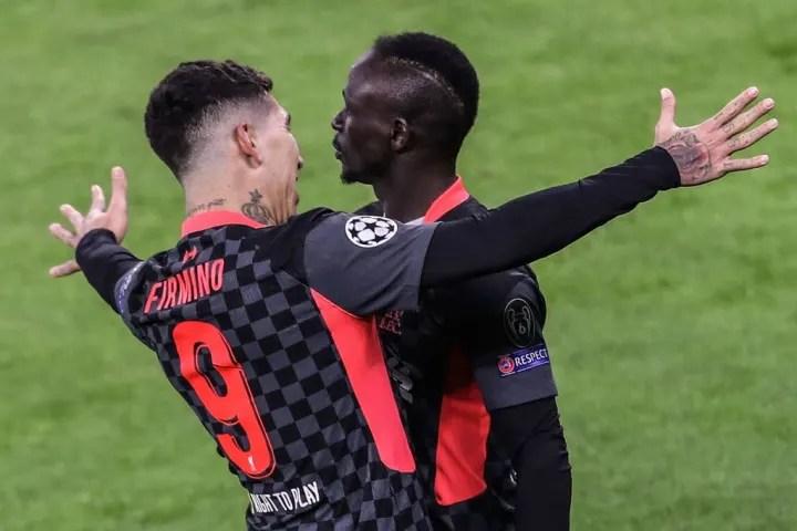 Mane scored Liverpool's second