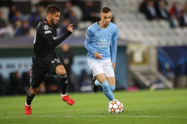Rodrigo Bentancur barely gave Malmo any peace in midfield