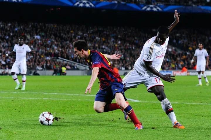 Lionel Messi, Cristian Zapata
