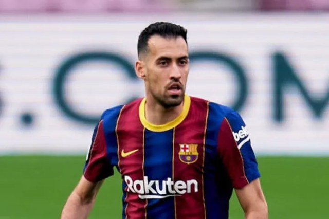 Sergio Busquets has played almost every La Liga game for Barcelona this season