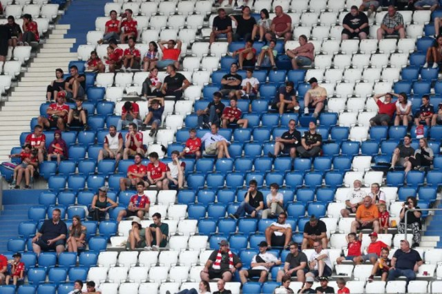 Bayern fans must still adhere to strict regulations to get into the stadium