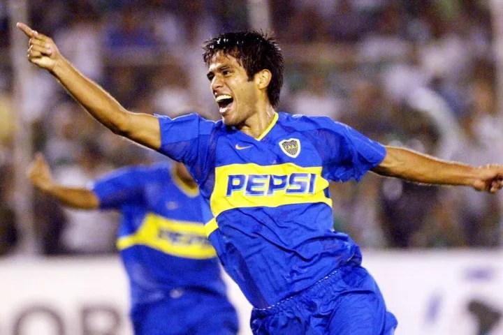 Fabian Vargas of Argentina's club Boca J