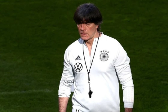 Joachim Low's team suffered defeat in a World Cup qualifier for the first time in almost 20 years