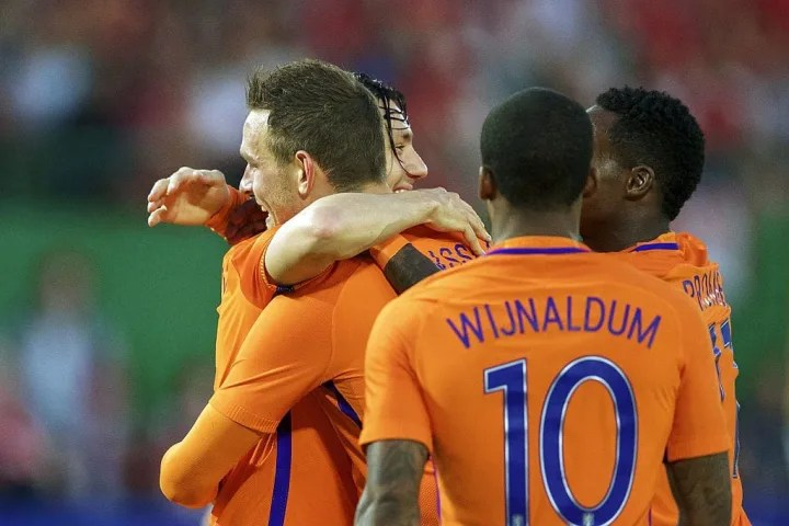 "Amistoso internacional - ""Austria v Holanda"""