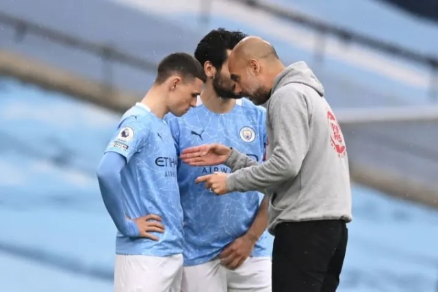 Pep Guardiola says Phil Foden is the most talented youngster he's worked with
