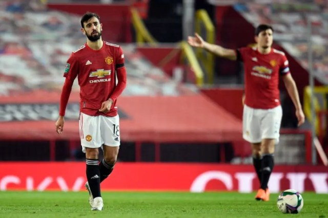 Man Utd have played in four semi-finals since the start of 2019/20 but not reached any finals