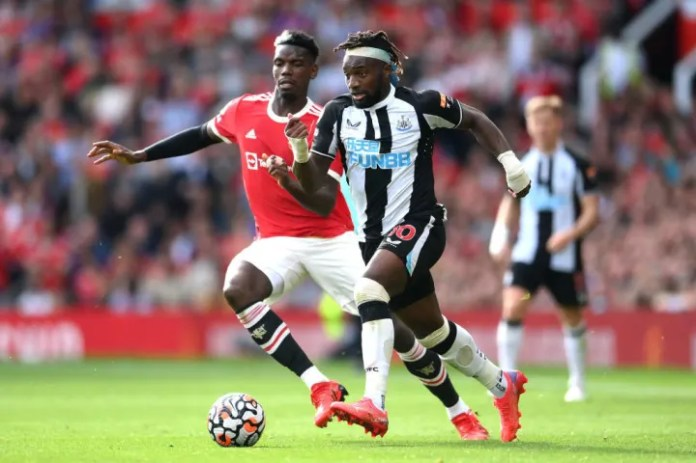 Saint-Maximin's pace was a huge threat for Newcastle