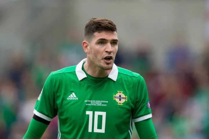 Lafferty saw his 90th minute effort hit the post.
