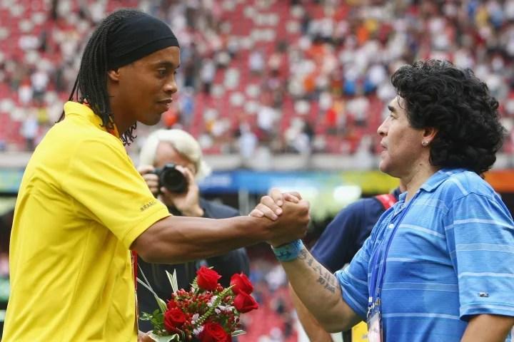 Ronaldinho, Diego Maradona
