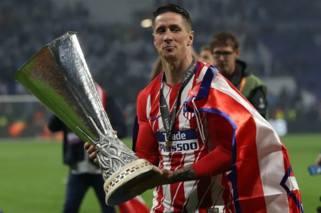Fernando Torres' last game in Europe was the 2018 Europa League final