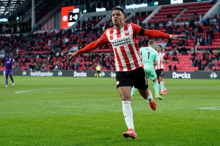 Malen has scored 23 goals for PSV this season