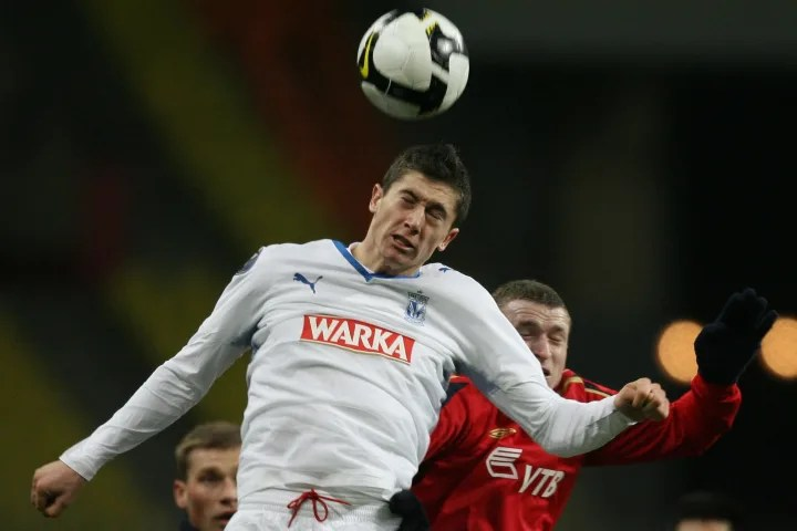 Pavel Mamaev (R) or CSKA Moscow dirty white