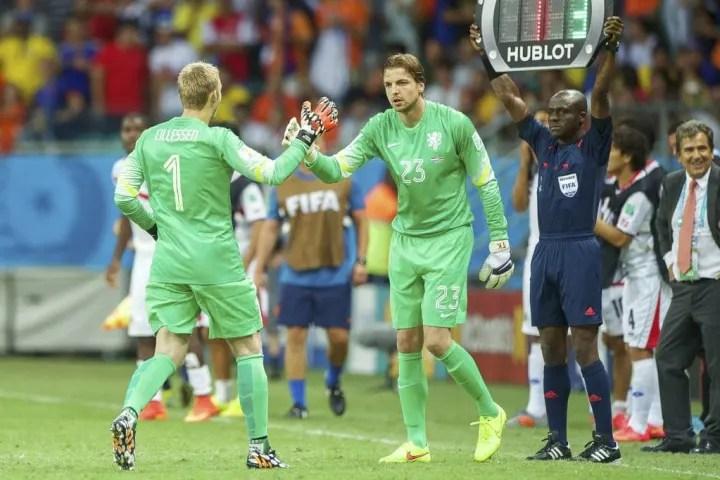 "Quarter final - ""Netherlands v Costa Rica"""