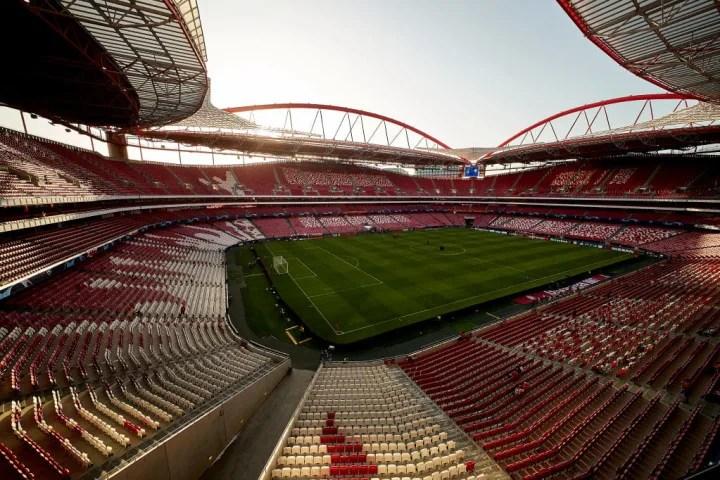 No, it's not the Emirates - it's Benfica's Estadio da Luz