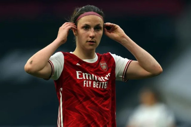 Lotte Wubben-Moy helped Arsenal remain ironclad at the back