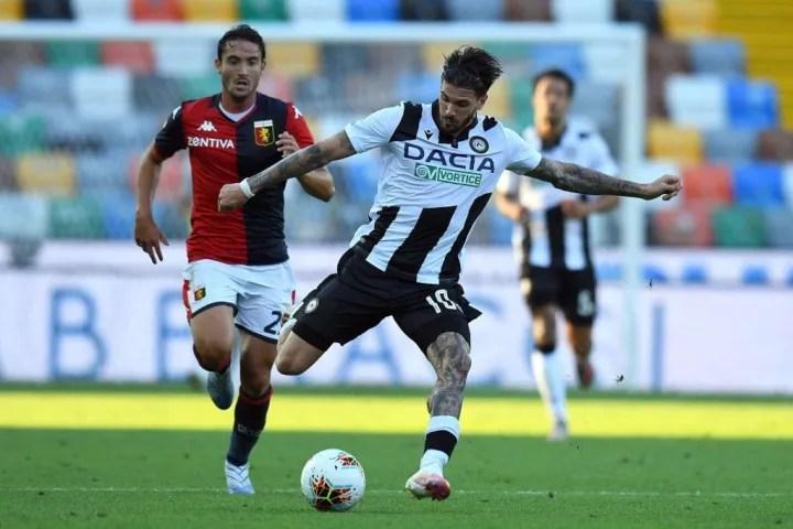 De Paul ha marcado 17 goles en la Serie A en juego abierto con el Udinese, más de la mitad han venido desde fuera del área