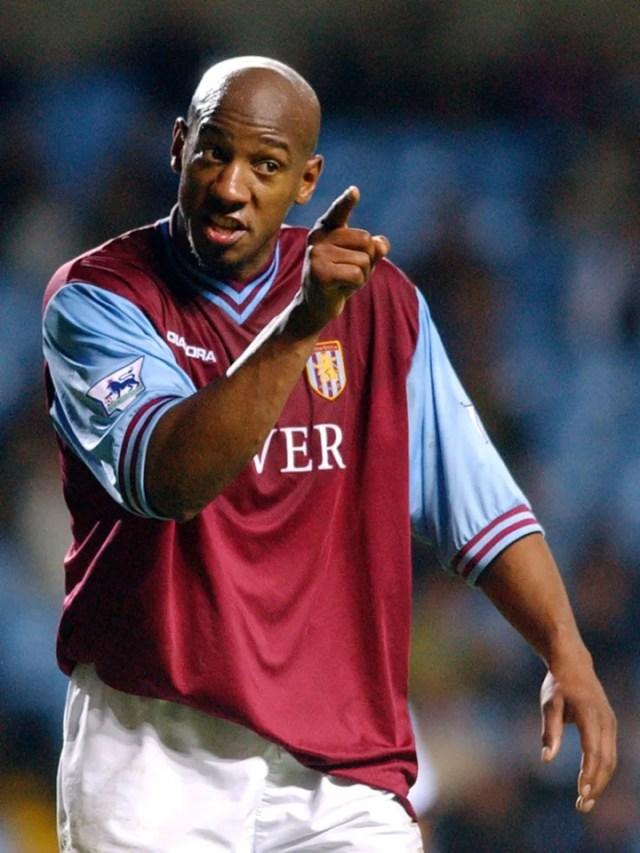 Dion Dublin of Aston Villa