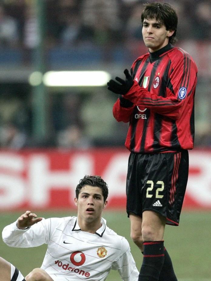 Portugezi Cristiano Ronaldo nga Manchest