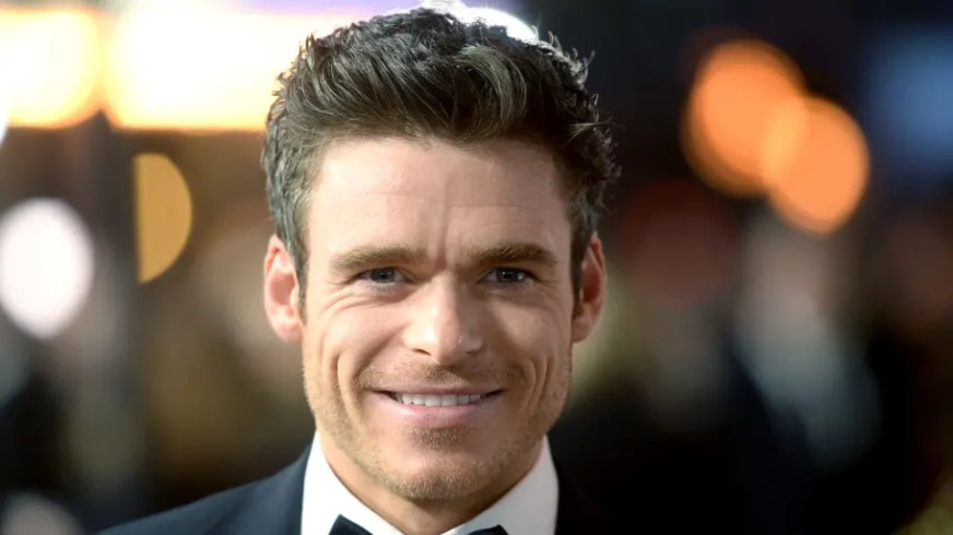 Richard Madden Spotted Filming on Set of 'The Eternals'