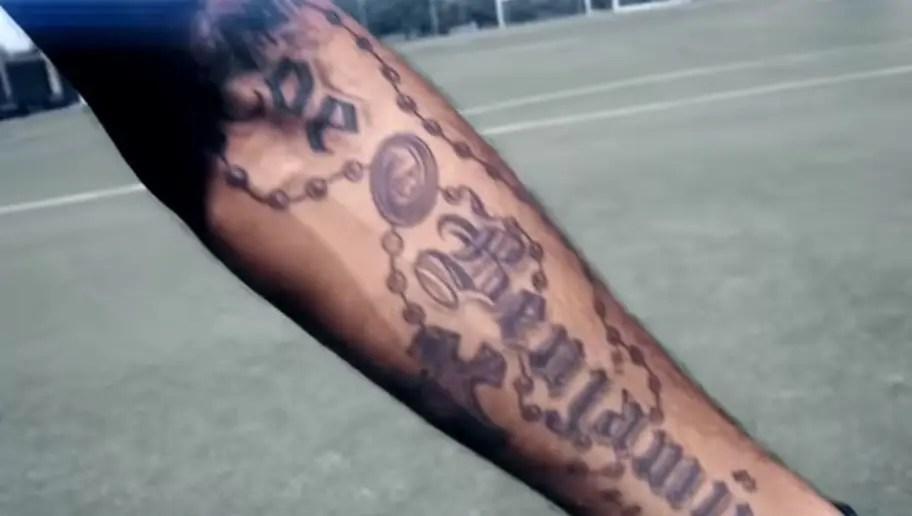 Jugador Por Jugador Todos Los Tatuajes De Los Futbolistas De La