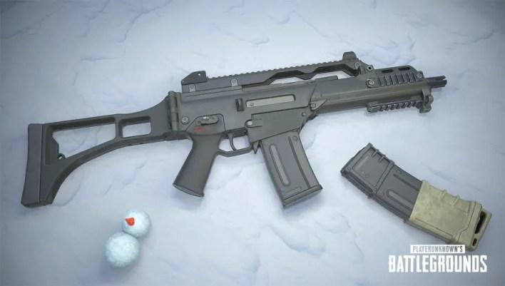 سلاح G36C الجديد بابجي