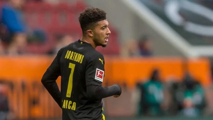 Sancho absent from training as Man Utd transfer saga looms