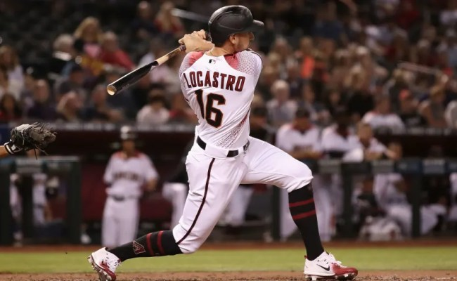 Dbacks Tim Locastro Has Been Hit By Pitch An Unreal