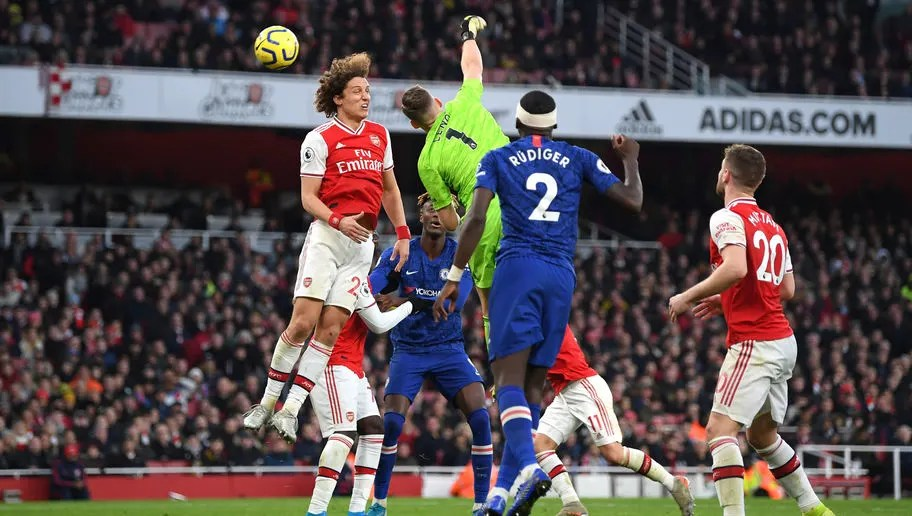 Image result for arsenal 1-2 chelsea