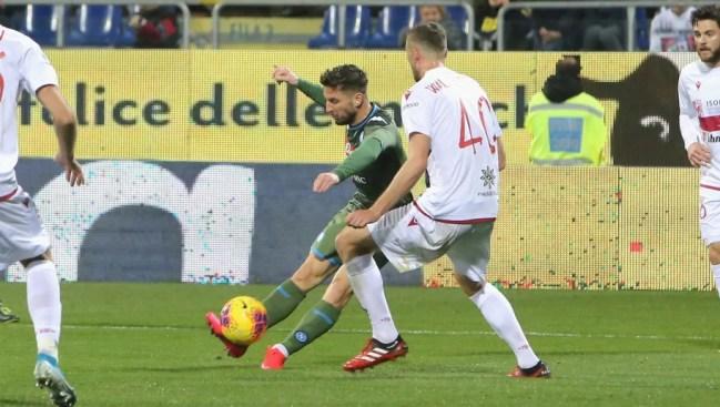 Image result for photos of cagliari vs napoli