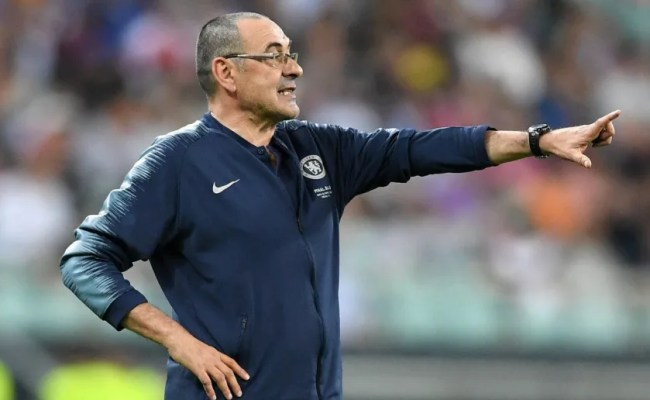 Maurizio Sarri Given Chelsea Exit Route As Juventus Offer