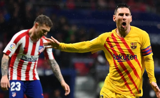 Atlético Madrid 0 1 Barcelona Report Ratings Reaction