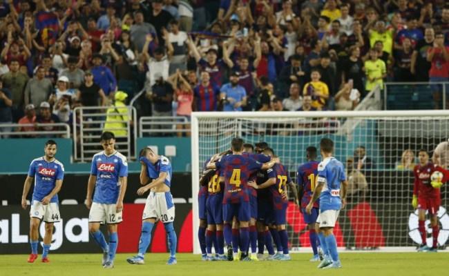 Napoli Barcellona Orario Dove Vederla In Diretta Tv