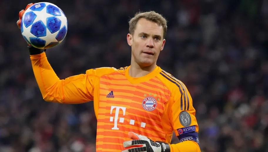 Kết quả hình ảnh cho Manuel Neuer champions league