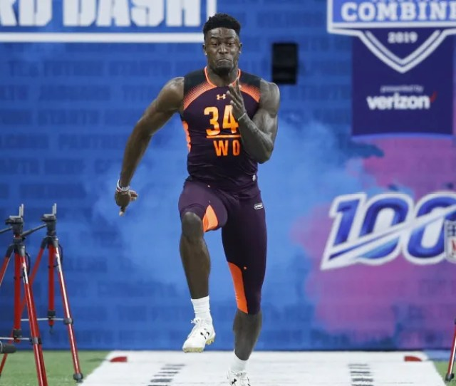 D K Metcalf Shuttle And  Cone Times At Nfl Combine Worse Than