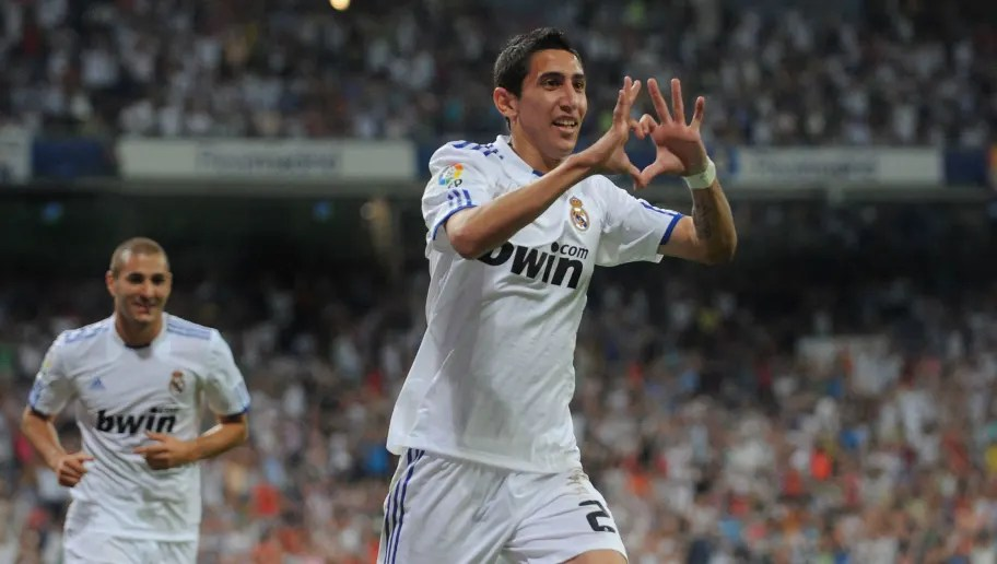 angel di maria claims that real madrid