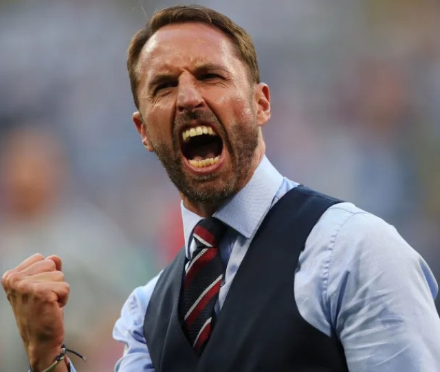 Fifa World Cup Samara Russia July 07 England Manager Gareth Southgate Is Seen During The 2018