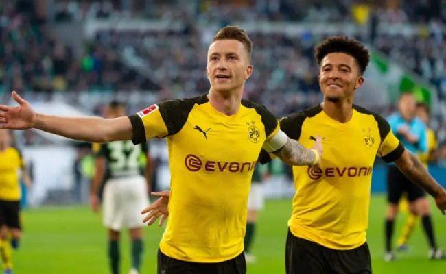 Wolfsburg 0 1 Dortmund Report Ratings Reaction As
