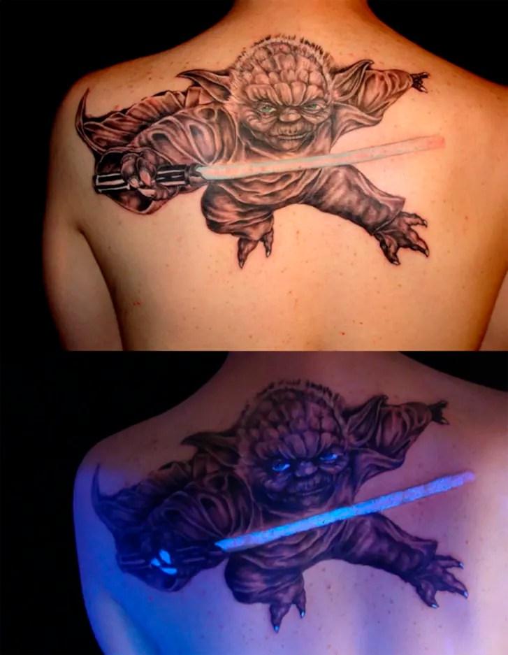 Black Light Tattoos : black, light, tattoos, Stunning, Black-Light-Responsive, Tattoos, Mental, Floss