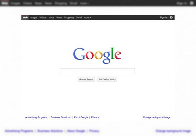 Google schimbă designul paginii sale principale și al