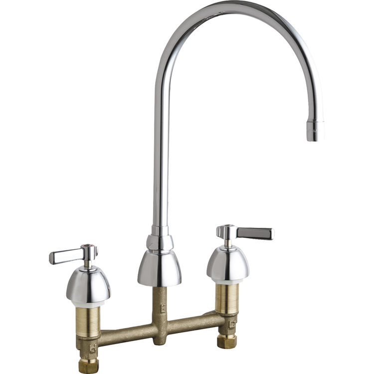 Chicago Faucets 786-GN8AE3-369ABCP Concealed Hot and Cold