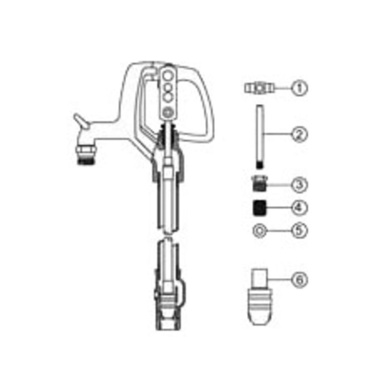 Woodford RK-W34 Repair Kit for Model W34 Yard Hydrant