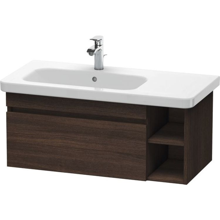Duravit Ds639705353 Durastyle 36 5 8 Wall Mount Single Bathroom Vanity With Left Side Wash Basin