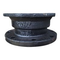 8 Inch Mechanical Joint x Flange Adapter, Ductile Iron ...