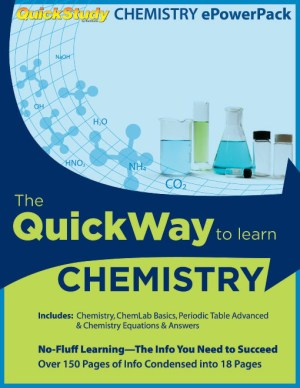 Chemistry Study Review PowerPack  4 Study Guide Bundle