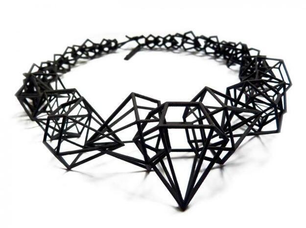 Stereodiamond Necklace (92934F6M9) by geraldesign