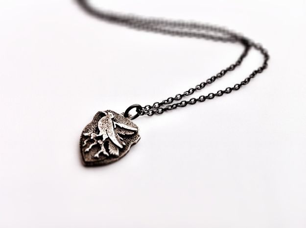 Ravenclaw Crest Necklace (SFUK5ZPCJ) by FanaticAlley
